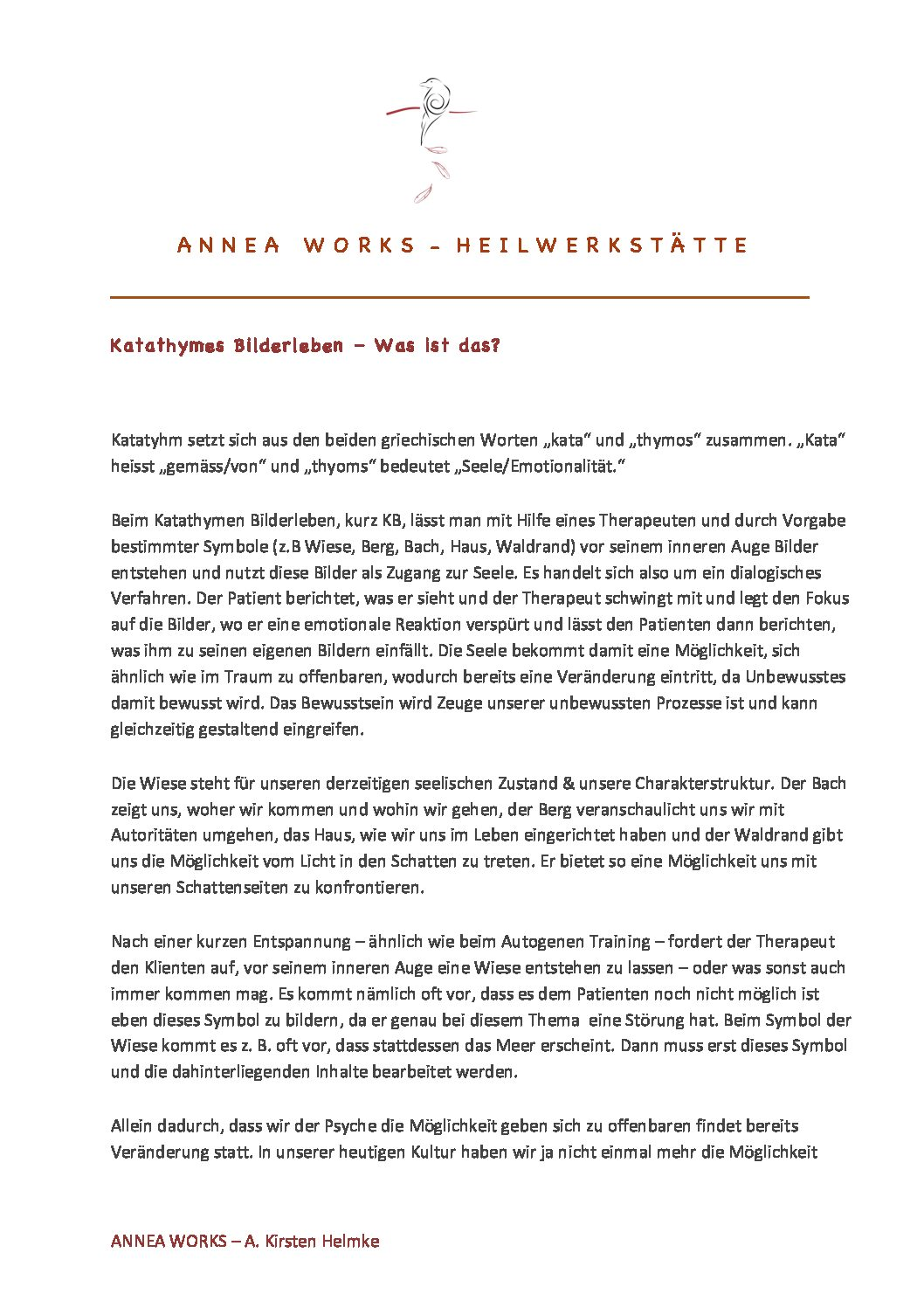 Info Katathymes Bilderleben