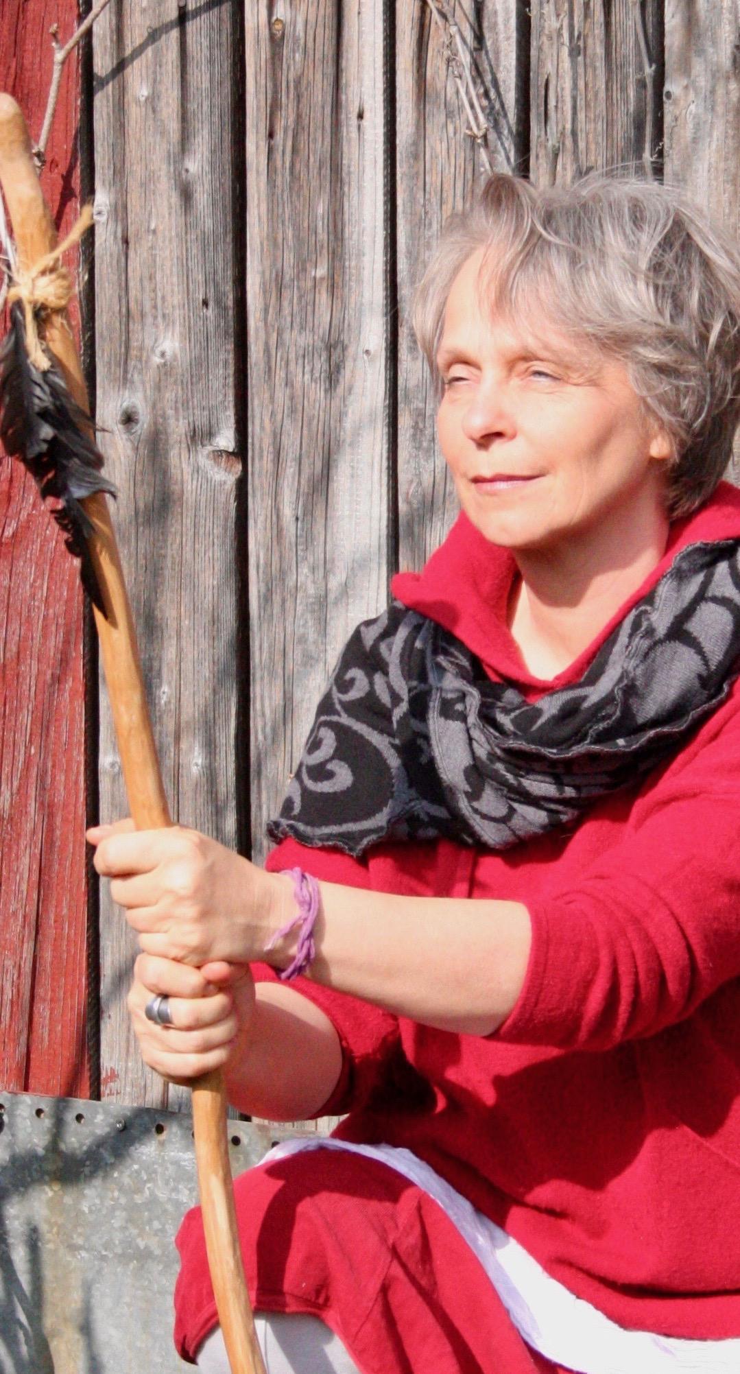 Annea Portrait Talking Stick