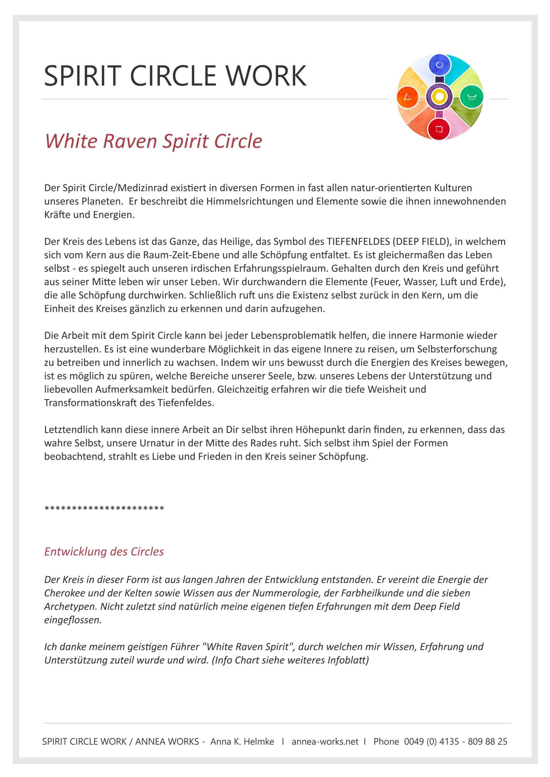 Bais Info Spirit Circle