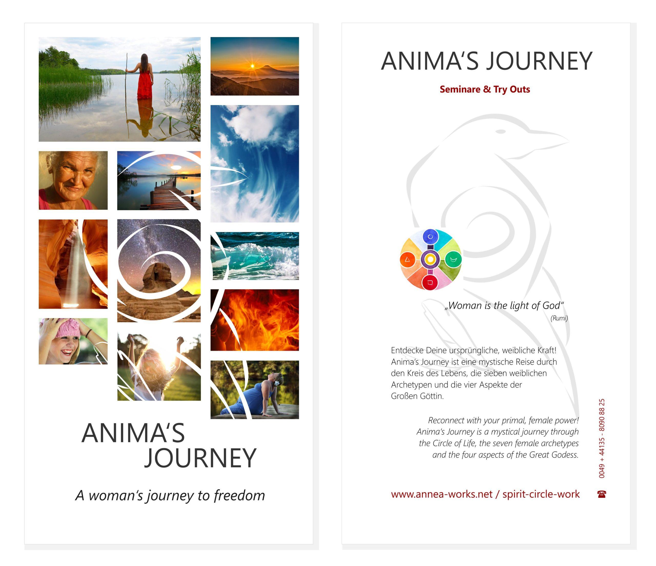 Flyer Animas Journey/Spirit Circle
