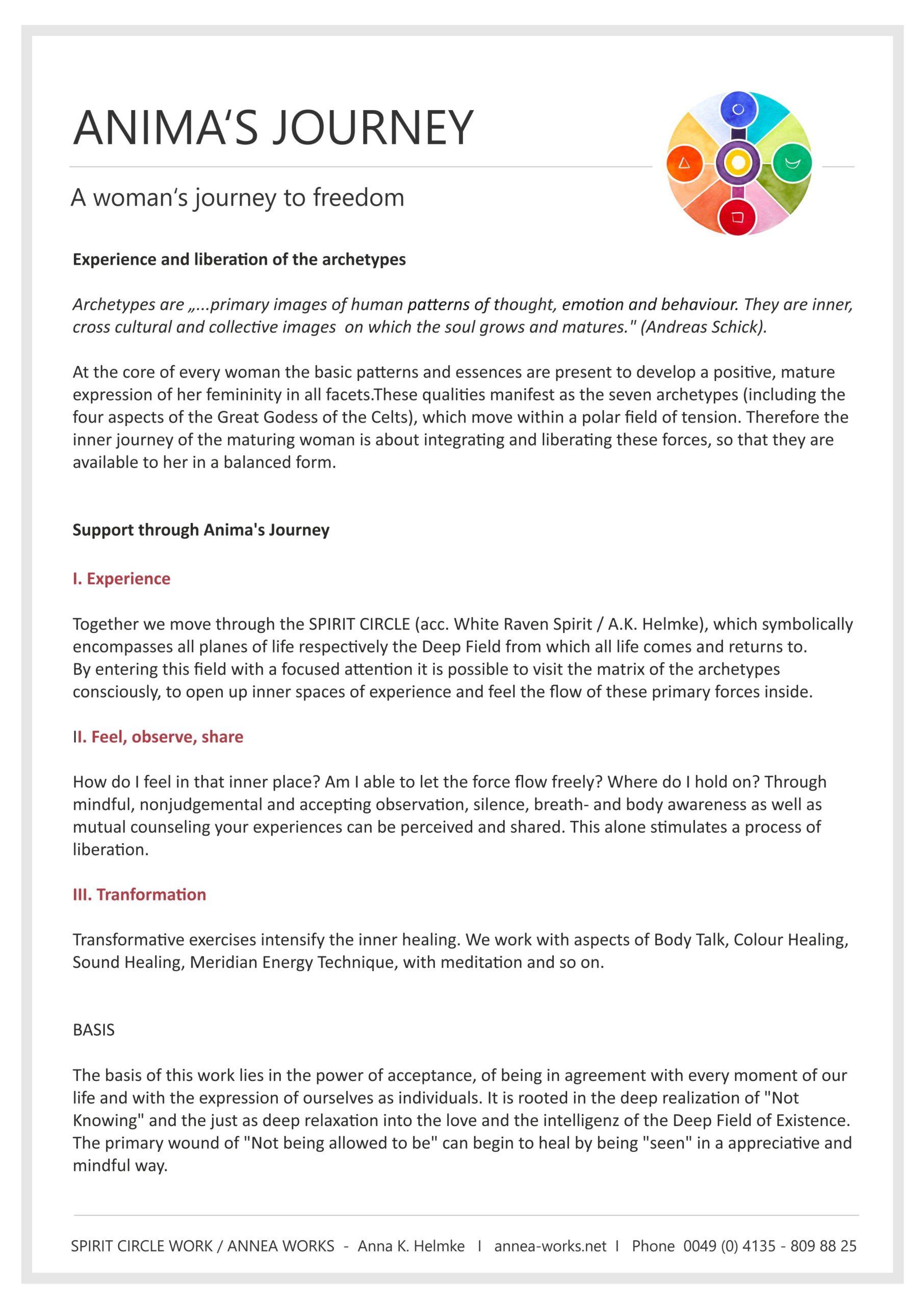 Info seminars Animas Journey