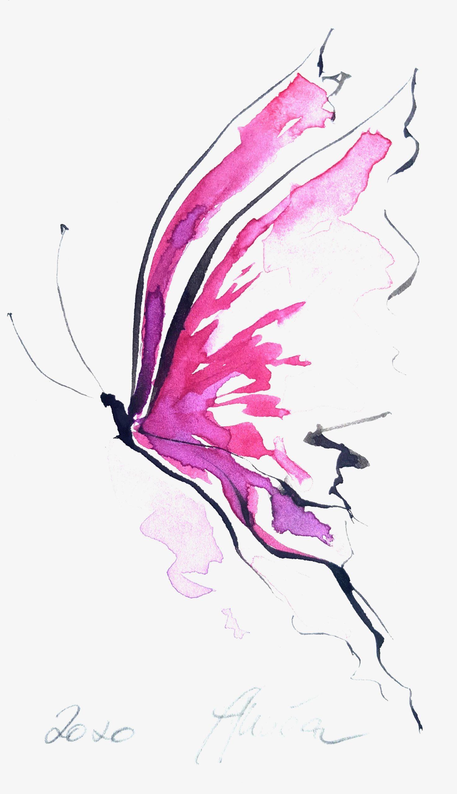 """Soul Art Schmetterling """"Verbindung zum Schicksal"""""""