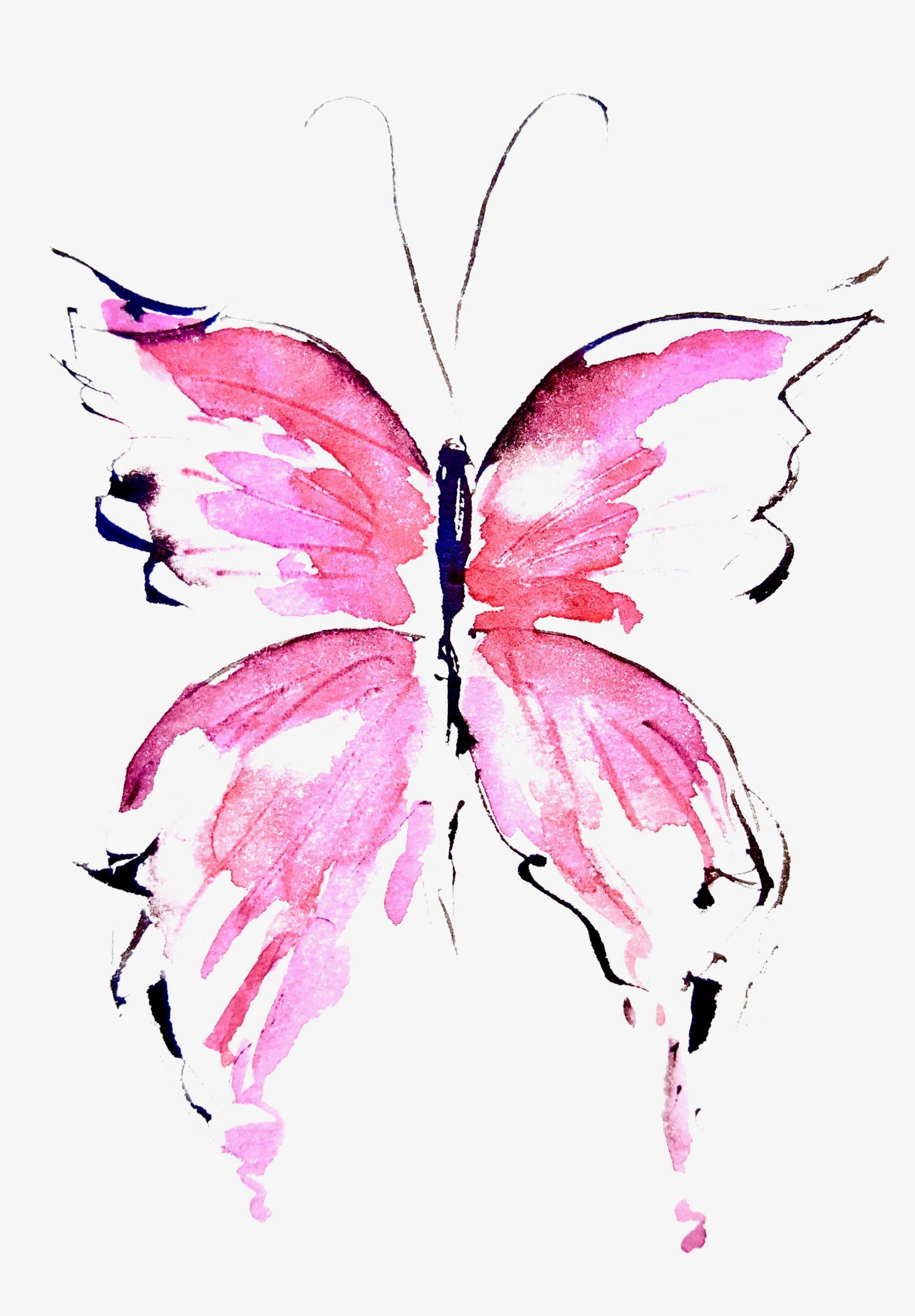 """Soul Art Schmetterling """"Seelenstern & Liebe"""""""