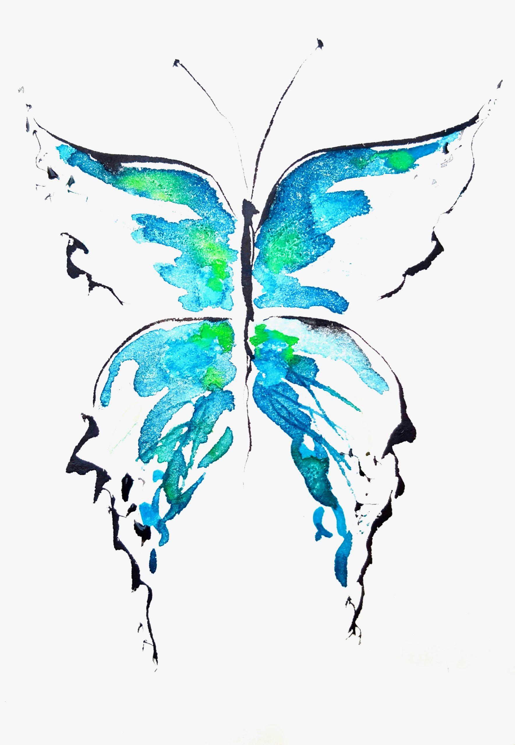 "Soul Art Schmetterling ""Wachstum & Neues Zeitalter"""